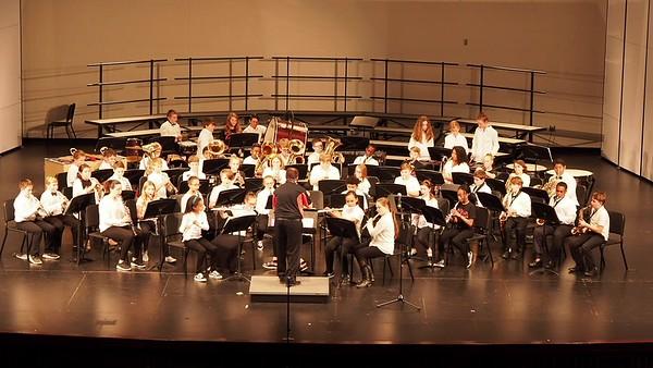 Sudlow Intermediate Fall 6th Grade Concert. 6th Grade Band, Bandroom Boogie.