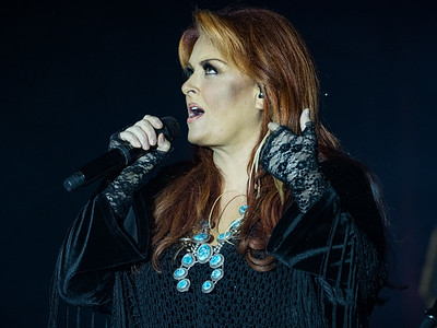 Wynonna Judd and the Big Noise with Monica Austin at The Rust Belt in East Moline, IL.