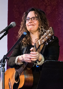 Lucy Kaplansky at the Princeton Coffee House in Princeton, IL.