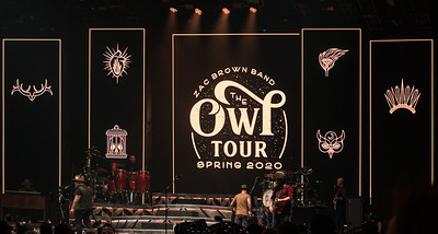 Zac Brown Band The Owl Tour with Sasha Sirota, Poo Bear, and Amos Lee.