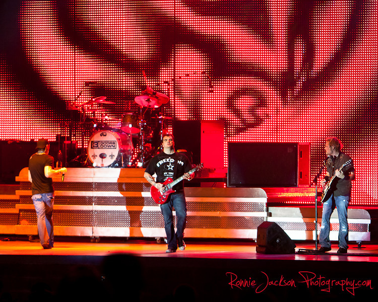 Brad Arnold, Greg Upchurch, Chris Henderson, Matt Roberts, 3 Doors Down