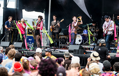Rubblebucket at the All Good Music Festival