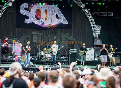Soja at the All Good Music Festival