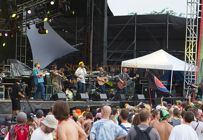 Trampled By Turtles at the All Good Music Festival