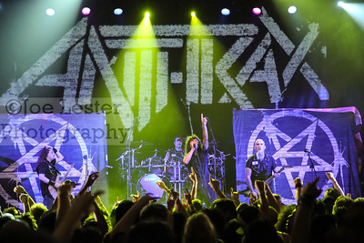 Anthrax at the Sunset House of Blues in W. Hollywood, CA 7-29-15