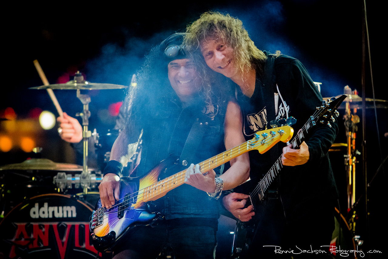 "Sal Italiano and Steve ""Lips"" Kudlow - Anvil - Gas Monkey Bar and Grill - Dallas TX - 4-16-2014<br /> <br /> © 2014 Ronnie Jackson Photography<br />  <a href=""http://www.ronniejacksonphotography.com"">http://www.ronniejacksonphotography.com</a>"