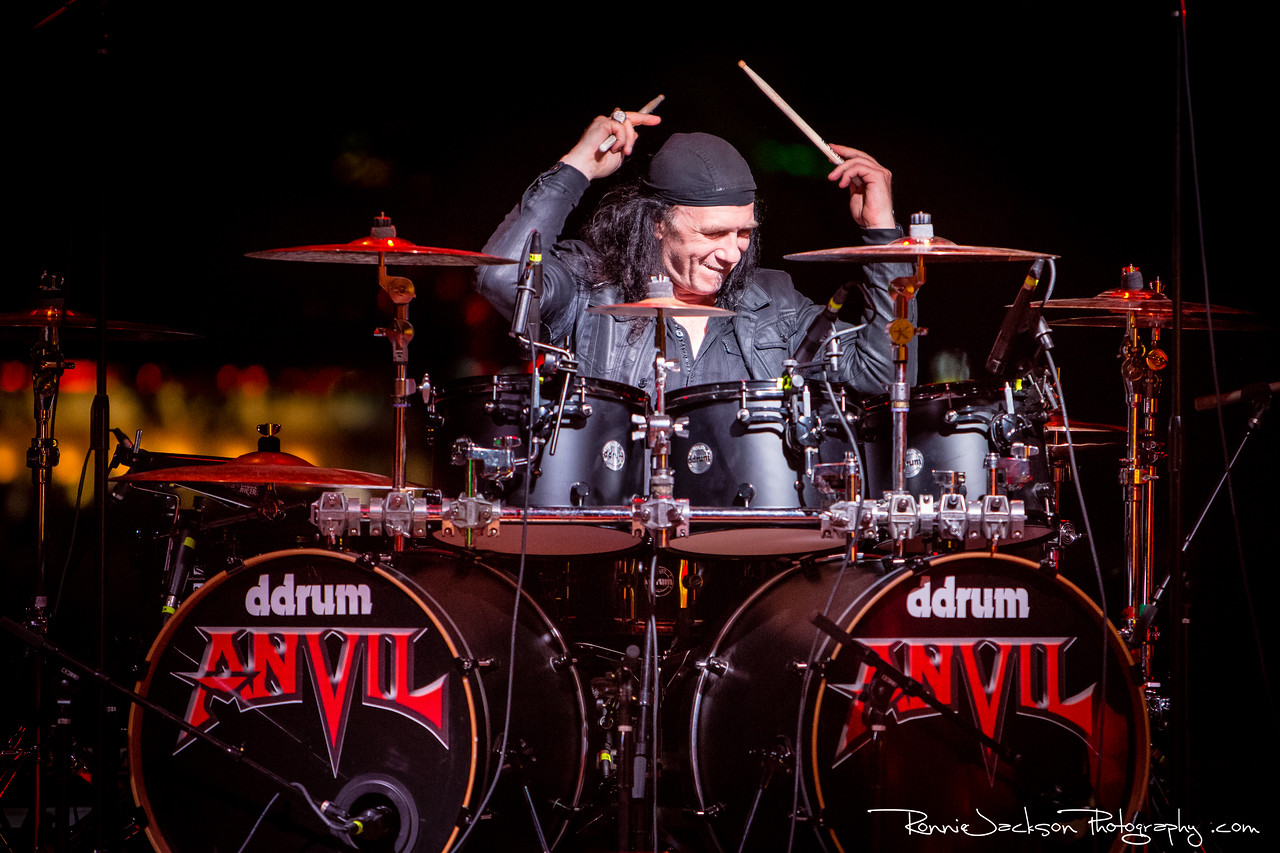 "Robb Reiner - Anvil - Gas Monkey Bar and Grill - Dallas TX - 4-16-2014<br /> <br /> © 2014 Ronnie Jackson Photography<br />  <a href=""http://www.ronniejacksonphotography.com"">http://www.ronniejacksonphotography.com</a>"