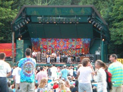 August 3, 2003 Dark Star Orchestra @ the Oregon Zoo
