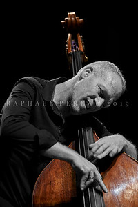 Avishai Cohen Trio Concert at Theatre de Chelles, March  2019.  Noam David on Drums and Elchin Shirinov with Piano.