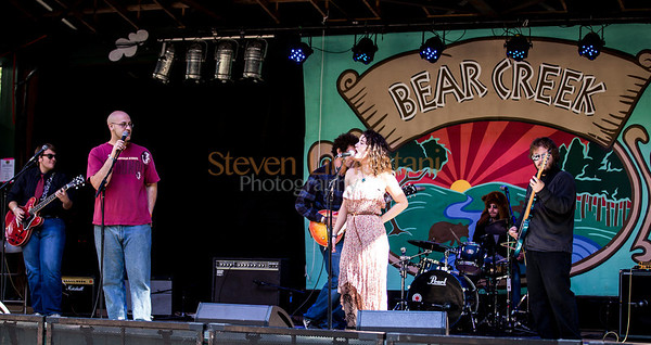 Florida State Blues Band at the Bear Creek Music Festival