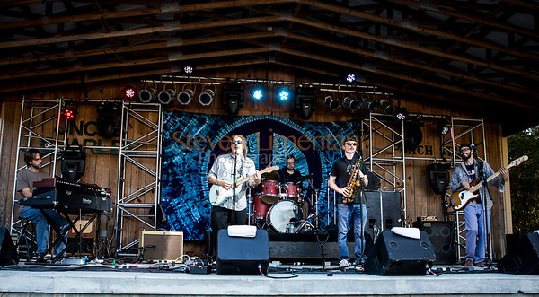 Savi Fernandez Band at the Bear Creek Music Festival