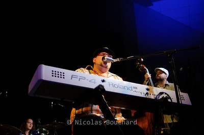 Lewis on the rock - Beauport en Blues 2011