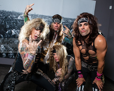 Steel Panther - Video Promo Shoot (Behind The Scenes) 9-25-12
