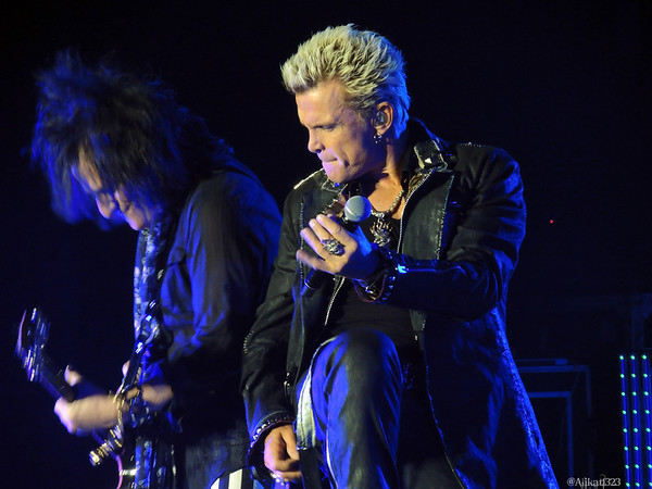 Billy Idol - Sands Casino - Bethlehem, PA - 6/9/13