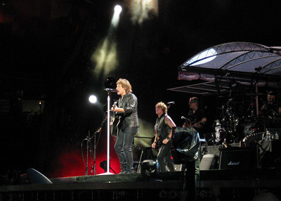 Bon Jovi w/ Kid Rock, Gillette Stadium 7/24/2010