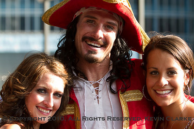 Captain Morgan and Wench (left) - Wench-Wannabee (right)