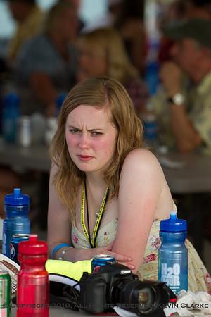 Brad Paisley Fan Club Party - Hannah