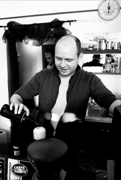 Florian at Caffé Fausto
