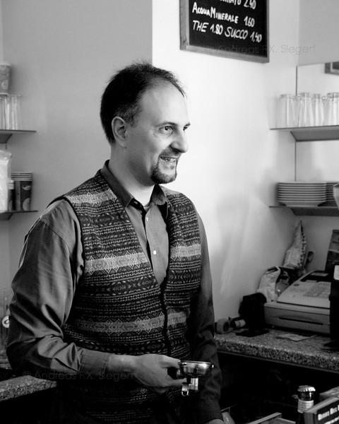 Daniele at Caffé Fausto