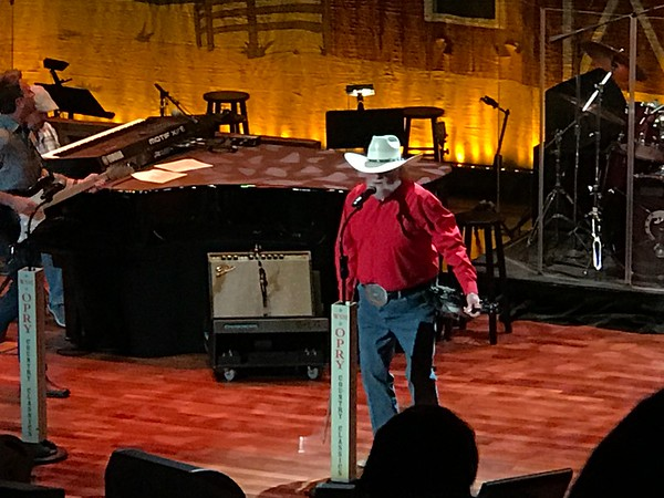 Charlie Daniels concert at the Ryman 5-5-17