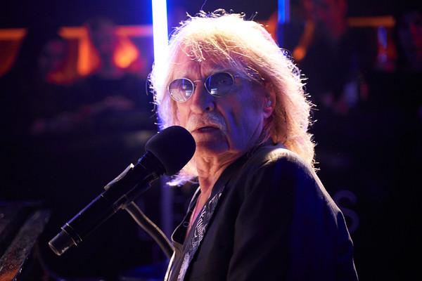 Christophe private concert at Les Bains hotel, Paris. Feb 2019
