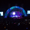 Coldplay, Hollywood Bowl, Los Angeles - 2012