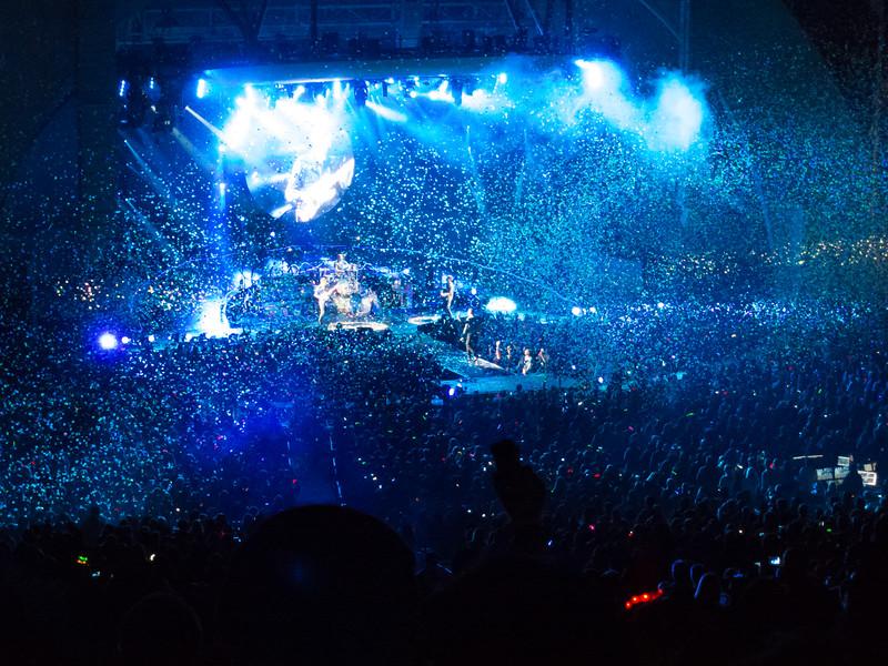 Coldplay, Hollywood Bowl, Los Angeles - 2012