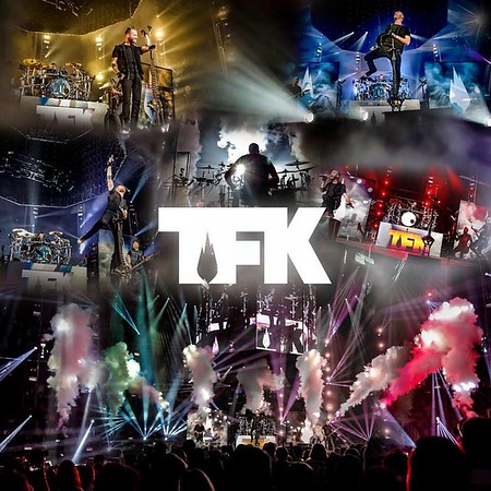 Thousand Foot Krutch's new live album CD packaging - provided 3 pages of live concert photos