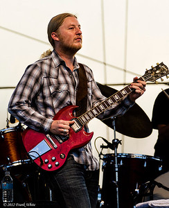 Derek Trucks.  2012 Chesapeak Bay Blues Festival, Sandy Point Park, Annapolis, MD.