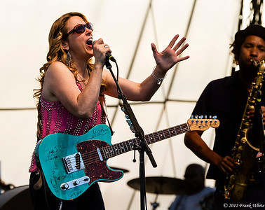 Susan Tedeschi.  2012 Chesapeak Bay Blues Festival, Sandy Point Park, Annapolis, MD.