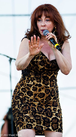 Janiva Magness.  2012 Chesapeak Bay Blues Festival, Sandy Point Park, Annapolis, MD.