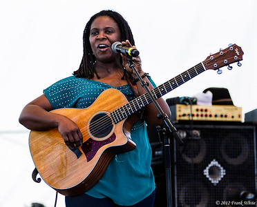 Ruthie Foster.  2012 Chesapeak Bay Blues Festival, Sandy Point Park, Annapolis, MD.