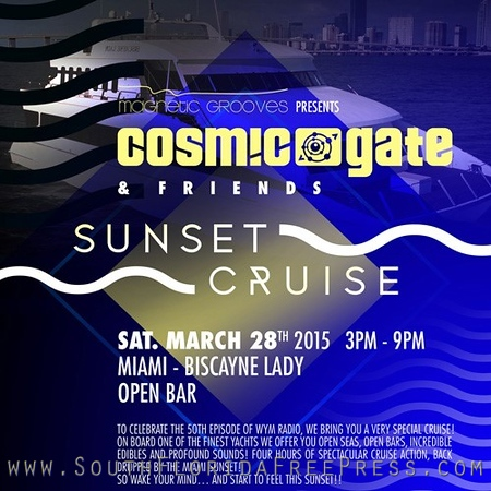 Cosmic Gate Sunset Cruise - WMC