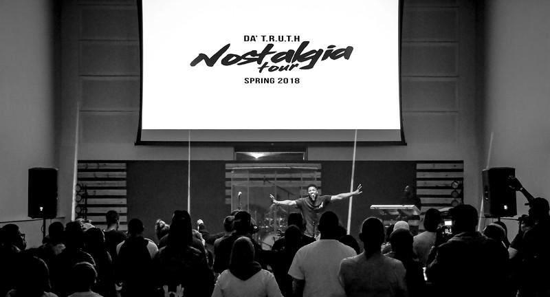 Da' TRUTH Nostalgia Tour Norfolk VA 3-24-18 by Annette Holloway Photo
