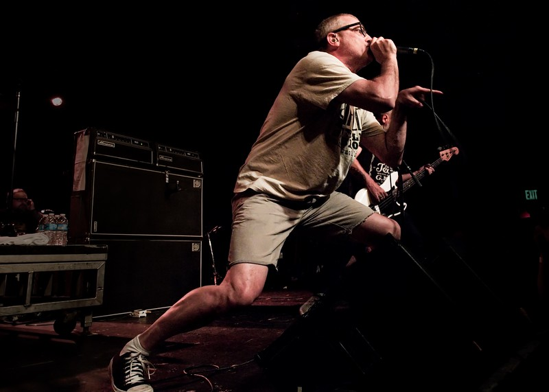 Milo Aukerman and Karl Alvarez of Descendents