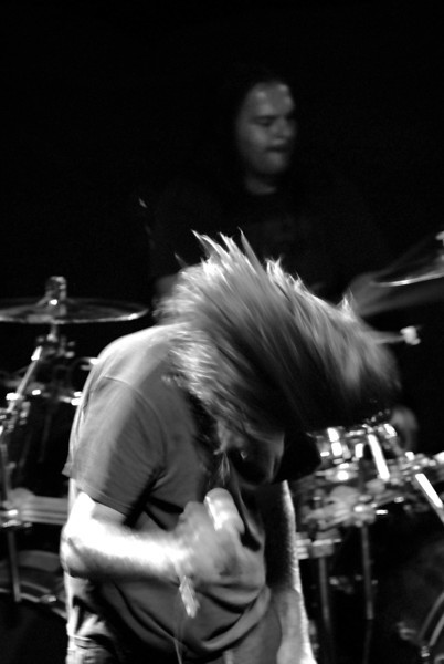 Ebullition performed along with Cannibal Corpse at Freebird Live on 05 April 2012.