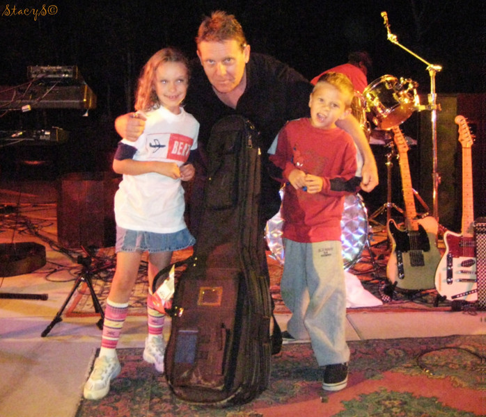 Skye and Danny with Dave Wakeling
