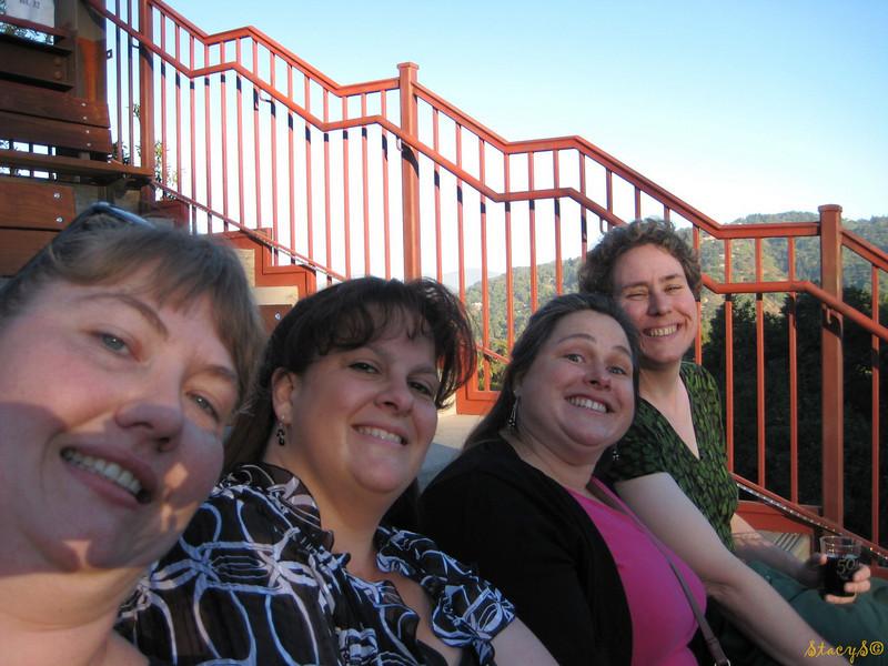 Stacy, Sandra, Kristin, Karen
