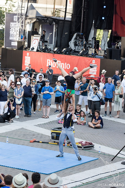 Street Artists @ Festival de Jazz de Montreal 2018