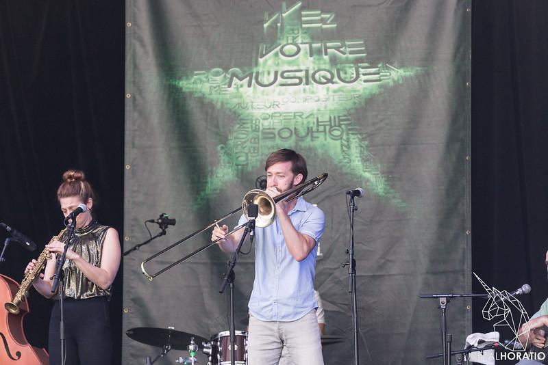 Aurora Nealand & The Royal Roses @ Festival de Jazz de Montreal 2018