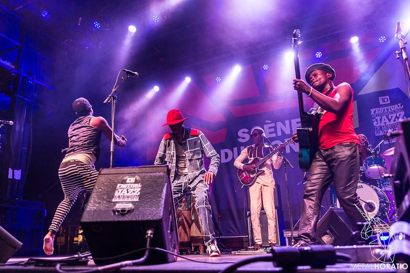Jupiter & Okwess @ Festival de Jazz de Montréal 2018