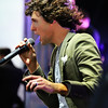 For King and Country - Luke Smallbone rockin the stage