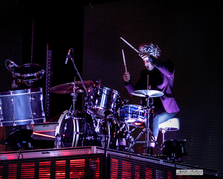 Teddy Boldt drummer for For King and Country at The Roadshow in VA 2-16-18 by Annette Holloway Photo