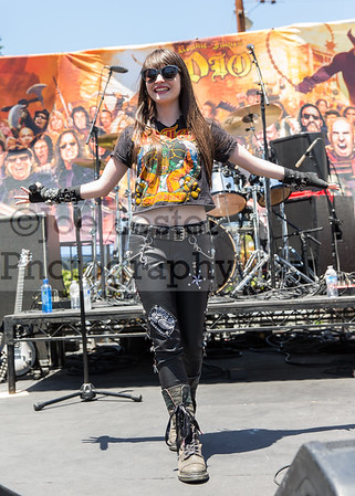 Gabbie Rae performs at the 2nd Annual Ride For Ronnie Event on Sunday, May 22, 2016 (photo by Joe Lester)