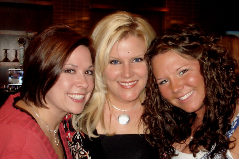 again Jen, Andrea and Lindsey