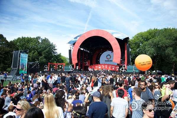 Global Citizen Festival Sept. 26, 2015 Great Lawn Central Park. Photo by, Perry Bindelglass