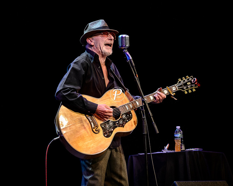 Graham Parker Performs in South Orange