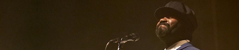 Gregory Porter concert during Jazz à la Villette in Paris. September 2017