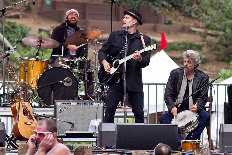 Peter Himmelman at Hardly Strictly Bluegrass Festival in Golden Gate Park, SF