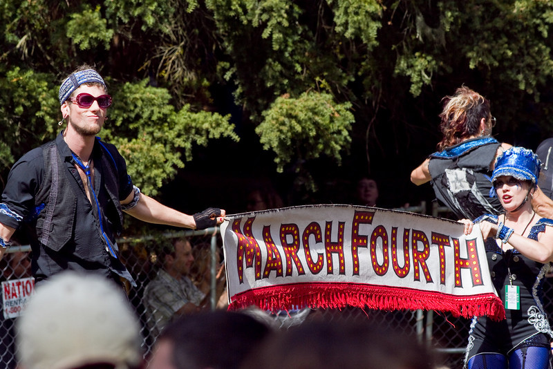 March Fourth at Hardly Strictly Bluegrass Festival in Golden Gate Park, SF
